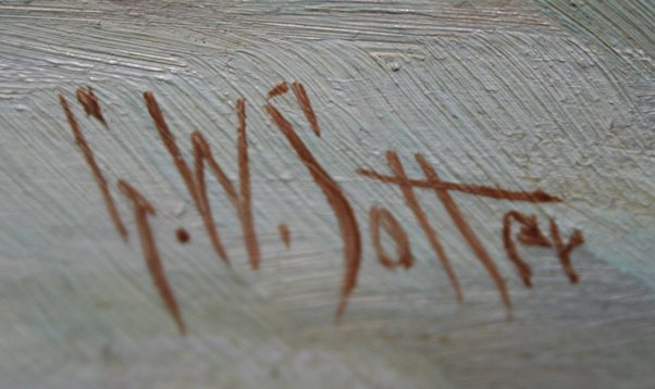 George Sotter signature
