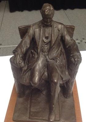 Lincoln memorial maquette