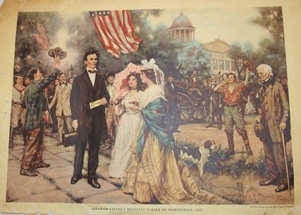 President Lincoln print