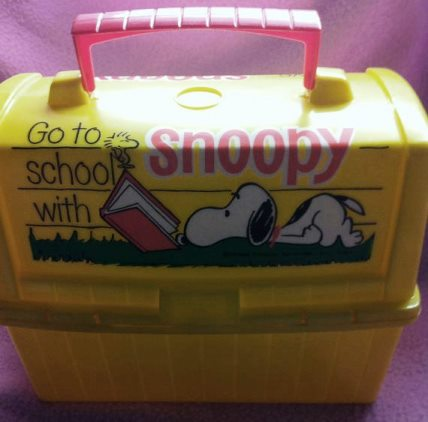 1970s Snoopy lunch box