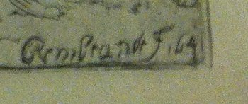 Rembrandt signature