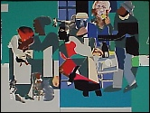 Jazz by Romare Bearden