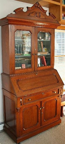 Eastlake furniture cabinet