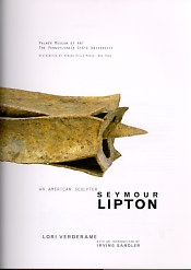 Seymour Lipton book