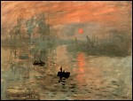 Monet's Impression Sunrise