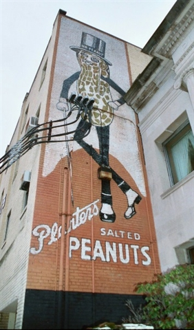 Mr. Peanut building