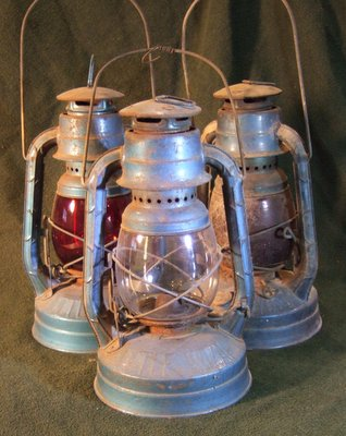 railroad lanterns