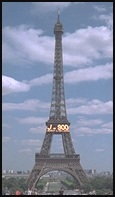 Eiffel Tower on July 14, 1997