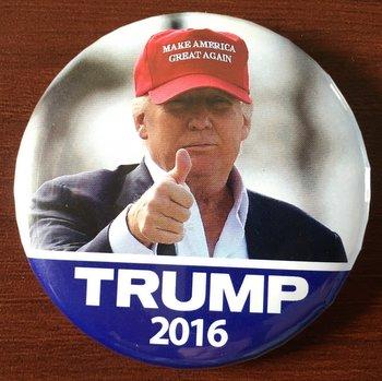 Trump campaign button