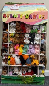 Beanie babies display