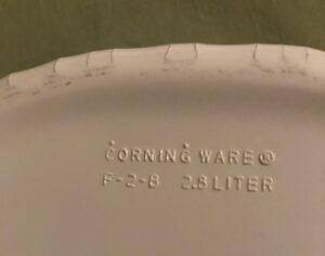 Corningware French White mark