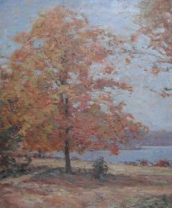 Frank Alfred Bicknell painting