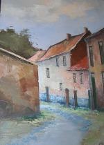 Frank Schoonover Painting