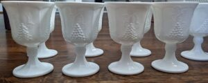 Indiana Glass Goblets