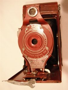 Antique kodak camera