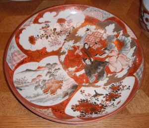 Kutani ware china