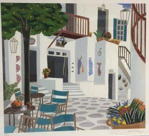 Thomas McKnight painting