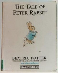 The Tale of Peter Rabbit vintage book