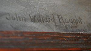 John Willard Raught signature