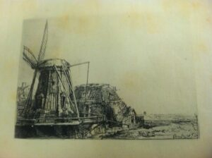 Rembrandt print The Windmill