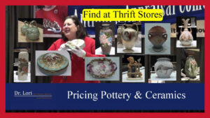 Pricing Pottery and Ceramics