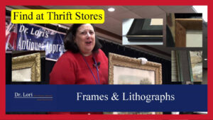Antique Frames and Lithographs by Dr. Lori