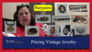 Pricing Vintage Antique Jewelry by Dr. Lori
