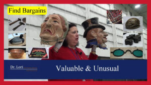 valuable and unusual finds by Dr. Lori