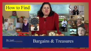 Finding Treasures and Bargains