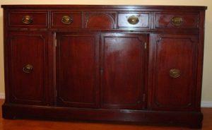 Brown furniture appraisal