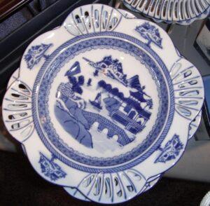 cantonware plate