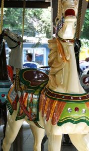 Antique Carousel Horses