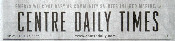 Centre Daily Times Masthead