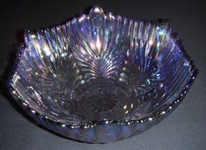 Fenton iridescent glass