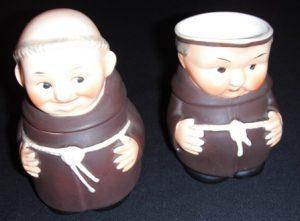 Goebel Friar Tuck Sugar and Creamer Set