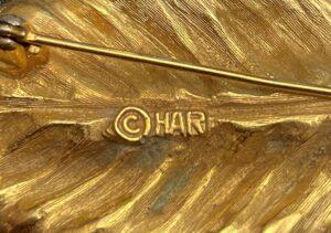 har costume jewelry mark