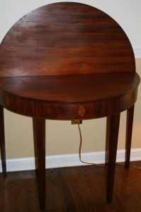 Hepplewhite table