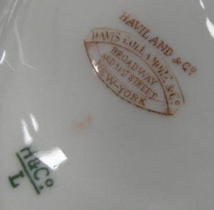 Limoges Porcelain mark