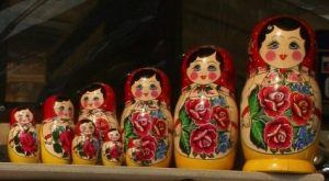 Matroyska or Russian Nesting Dolls