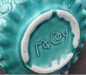 McCoy pottery mark