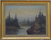 Wayne Morrell landscape painting