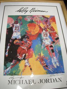 Michael Jordan Leroy Neiman print
