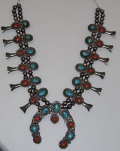 Pawn Indian necklace