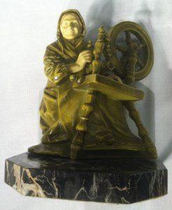 Ship captain figurine
