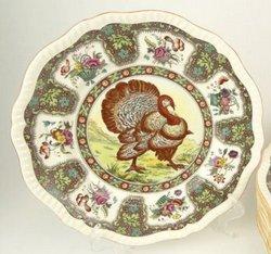 Antique turkey platter