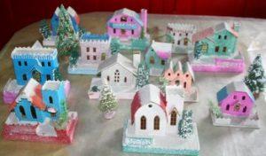 Miniature Christmas villiage