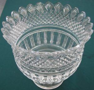Waterford Crystal punch bowl